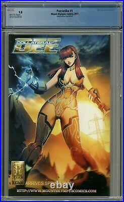 Patriotika #1 CGC 9.8 Independence Day Edition Gaston Variant Cover Limited 150