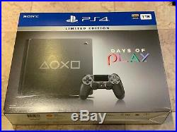 PlayStation 4 Slim 1TB Limited Edition Console Days of Play Bundle