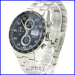 Polished TAG HEUER Carrera Calibre 16 Chronograph Day Date Watch CV2A10 BF521212