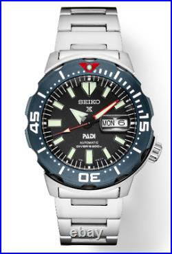 Prospex PADI Special Edition MONSTER SRPE27 200 METER DIVER (FEDEZ 2 DAY SHIP)