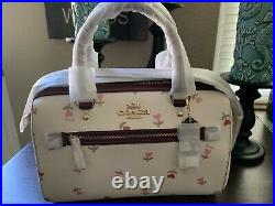 ROWAN Satchel By COACH Heart Floral Print MOTHERS DAY