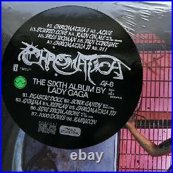 RSD 2021 Lady Gaga Chromatica Vinyl sealed Record Store Day Limited Edition