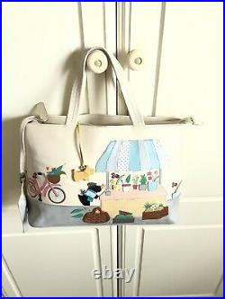 Radley Market Day Limited Edition Signature Picture Bag With Coinpurse&Dustbag