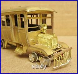 Red Ball Howell Day Mack-Brill Rail Bus Un-Painted Brass #3 HO