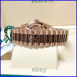 Rolex Day-Date 40 228235 Rose Gold With Papers 2020 UNWORN