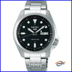 Seiko 5 Sports SRPE55K1 Men's Automatic Day-Date 100M Stainless Steel Watch