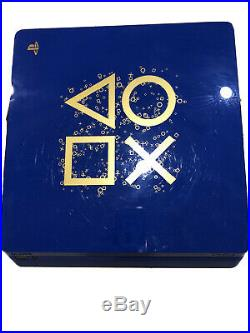 Sony PlayStation 4 PS4 1TB Limited Edition Days of Play Console Bundle
