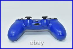 Sony PlayStation 4 PS4 500GB Slim Days of Play Blue Limited Edition Console VGC