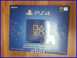 Sony PlayStation 4 Slim 1TB Days of Play Blue Limited Edition ps4