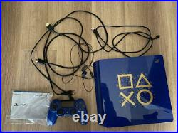 Sony PlayStation 4 Slim Days of Play Limited Edition Blue 500GB with BOX