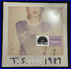 Taylor Swift 1989 Crystal Clear/Pink Colored Vinyl 2LP Record Store Day /3750