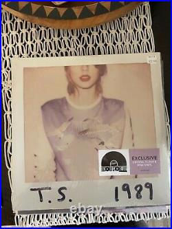 Taylor Swift 1989 Record Store Day (RSD) Pink Vinyl New Sealed #1059 of 3750