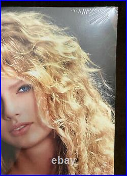 Taylor Swift Crystal Clear & Turquoise Colored Vinyl 2 LP Record Store Day Rare