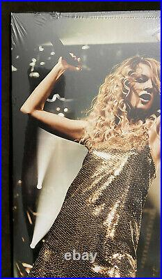Taylor Swift Fearless Crystal Clear & Metallic Gold Vinyl 2 LP Record Store Day