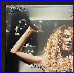 Taylor Swift Fearless Crystal Clear/Metallic Gold Vinyl LP Record Store Day/3750