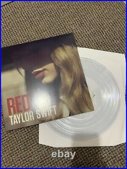 Taylor Swift Red Record Store Day Black Friday 2018 Clear Vinyl LP RSD