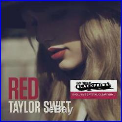 Taylor Swift Red Record Store Day Exclusive Clear Vinyl Sealed Damaged