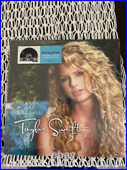 Taylor Swift Self Titled Record Store Day (RSD) Clear Turquoise Colored Vinyl