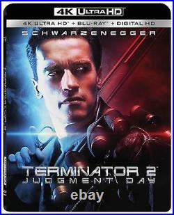 Terminator 2 Judgment Day Endoarm 4K Collector's Edition NEW Factory Sealed