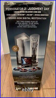 Terminator 2 judgement day 4k with limited edition arm number 1117 of 1200