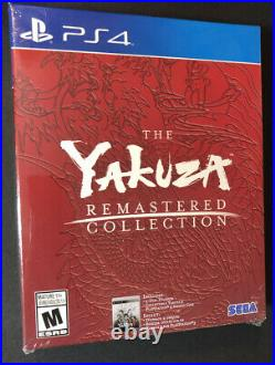 The Yakuza Remastered Collection Day One Limited Edition Box Set (PS4) NEW