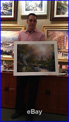 Thomas Kinkade A Mother's Perfect Day 18 x 24S/N Limited Edition Paper