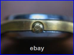 Vintage OMEGA Seamaster Cosmic 2000 Day Date Automatic Watch Gold Plated
