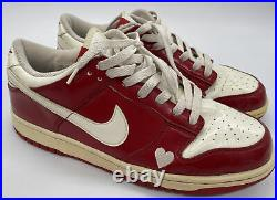 WMNS Size 10 Dunk Low Valentines Day 309324-611 See Pictures