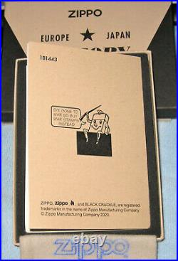 ZIPPO 75th VICTORY Lighter VE VJ DAY Limited Edition END WWII Boxed Set 49264